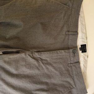 J Crew Sutton heather gray pants 32